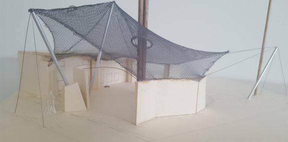 Modell der neuen Anlage