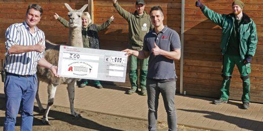 Spendenübergabe Zoo Hoyerswerda